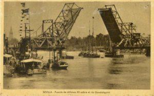 Puente Alfonso XII, Río Guadalquivir, Sevilla