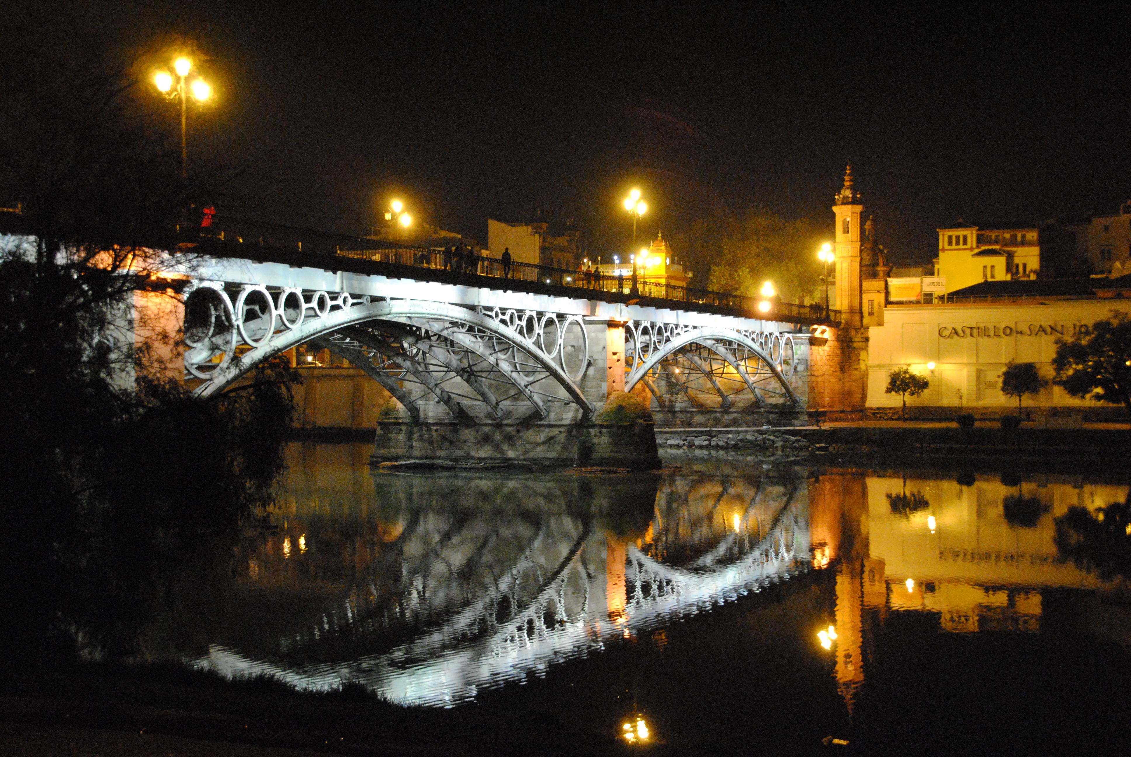 Triana bridge Seville