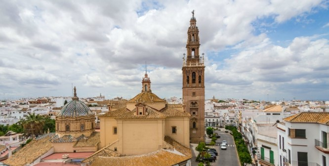 Carmona replica Giralda tower