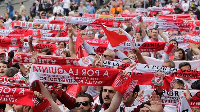 Sevilla's 'Biris Norte' Fans