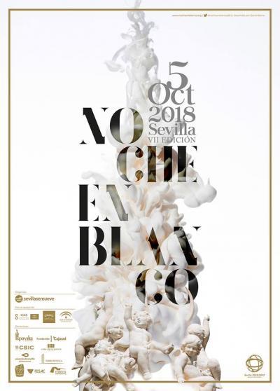 Poster for Sevilla's Noche en Blanco