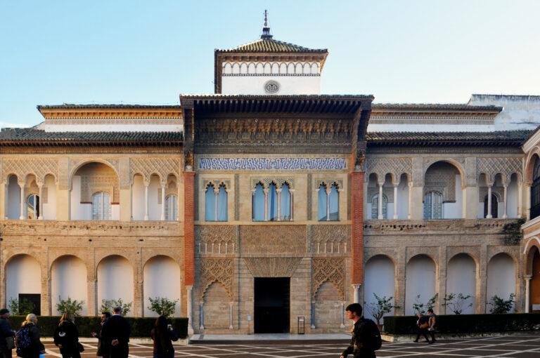 Alcazar de Sevilla fachada